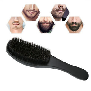 NEW Styling Tool Bristles Beard Brush Portable Hair Smoothing Mustache Cleaning