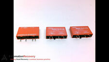 CROUZET SM-ODC5 - PACK OF 3 - OUTPUT MODULE, 3.0-8 VDC INPUT, 3A 60VDC, NEW*