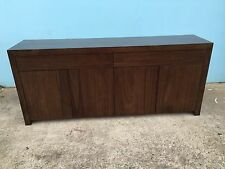 Local Made Solid Oak Hardwood Timber Fairmont- Buffet Sideboard Push To Open