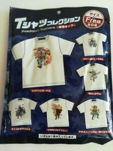 Pokemon T-shirt japan only Free size Types cannot be selected From Japan