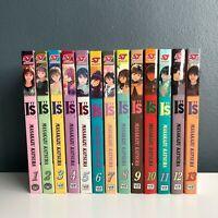 """I""""s Aizu  Manga Set 1,2,3,4,5,6,7,8,9,10,11,12,13 English  Set Katsura Masakazu"""