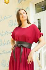 Cintura FUSCIACCA Donna  interno scamosciato VERA PELLE Made in Italy