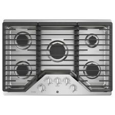 GE PGP959SET Stainless Steel 30 in. Gas Gas Cooktop