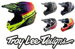 Troy Lee Designs SE4 CARBON 2019/Fall TLD Mips 1100g Light Motocross MX Helmets