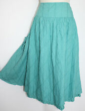 PER UNA Jade Cotton Skirt SIZE 14 BNWT @ £35.00 ~ The High Street Collection