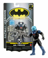 """DC Comics Batman Missions Mr. Freeze 6"""" Action Figure BRAND NEW in Package!"""