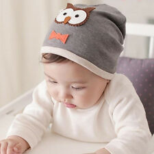 Unisex Cotton Beanie Hat For Kid Child Baby Boy/Girl Soft Toddler Cap 2016