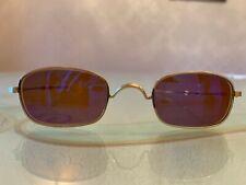 Oliver PeoplesOP-598. Sliding Temple Vintage Sunglasses. Mint Codition.