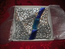 MURANO ART-Deco Collection Wavy Candy Dish w/Box