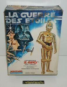 ++ jouet vintage MECCANO Z-6PO l'authentique la guerre des étoiles STAR WARS ++