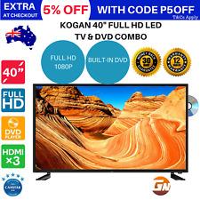 "Kogan 40"" Full HD 1080p LED TV & DVD Combo Series 7 GF7000 USB"