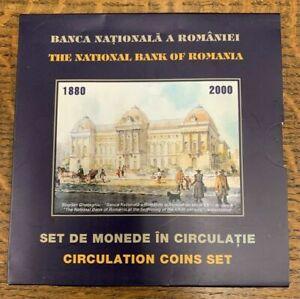 The National Bank of Romain Circulation Coins Set 1880 - 2000