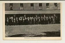 Vermont - Bennington - Old Soldiers Home - Group of Veterans -G.A.R - Civil War