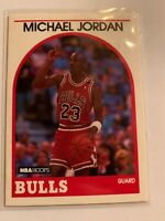 1989 NBA Hoops Michael Jordan (Chicago Bulls) Basketball Card No. 200