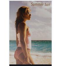 Deko Backcard Werbeaufsteller Schaufenster Aufsteller 230 x 145mm 03 SUMMER SUN