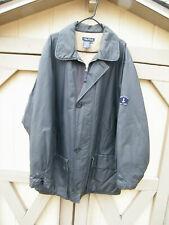 Nautica Gray Medium Weight Cotton & Nylon Jacket Size XXL-TTG
