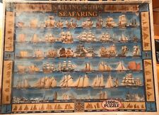 White Mountain Puzzles Jigsaw Puzzle 1000 Piece: Sailing Ships & Seafaring New