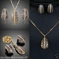Schmuck Halskette Kette Anhänger Geschenk #301/verziert mit Swarovski® Kristall