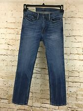 ABERCROMBIE & FITCH Kid's Straight Leg Blue Jeans Size 14