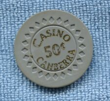 Canberra Casino 50 cent Australia casino chip T-373