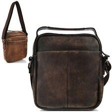 Man Messenger Bag Man Shoulder Bag Man Bag Genuine Cow Leather Bag DMB5084 Gray