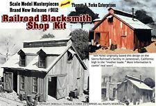RAILROAD BLACKSMITH SHOP Built Up Model Thomas Yorke/Fine Scale Craftsman On3