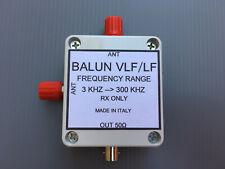 Balun VLF/LF SWL per antenna verticale filare maxiwhip frequenza 3 khz - 300 khz
