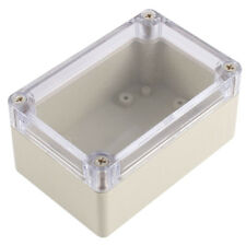 Clear Cover Plastic Electronic Project Junction Box 100 x 68 x 50mm2018 CF