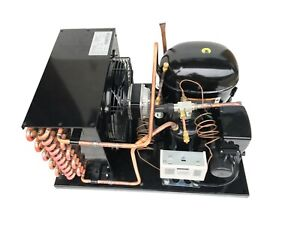 Indoor Condensing Unit 3/4 HP Low Temp, R404A, 115V (Embraco NT2168GKV)