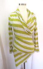 PRESS Wrap Shirt Sweater Size L Cotton Modal Sweater