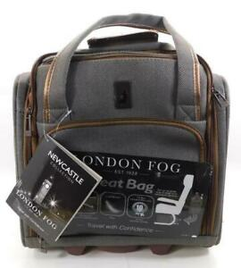 """London Fog New Castle Collection 15"""" Wheeled Under Seat Bag #R-1-4"""