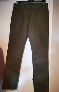 Mens Polo Ralph Lauren Khaki lightweight cotton jeans 32W32L