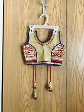 NEW Indian Chaniya Choli Traditional Dress Size 3-4 Toddler Girl Navratri Garba