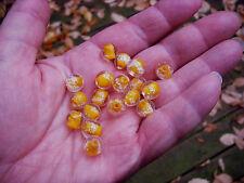 Heavy sink Fishing Premium Trout/Salmon/Steelhead Beads 10mm 6ct glow roe orange