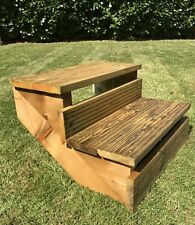 More details for steps stairs perfect for jacuzzi hot tub spa caravan decking garden steps