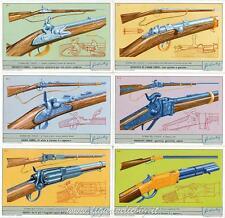Chromo Liebig Sang. 1795 ITA Storia del Fucile II ANNO 1963