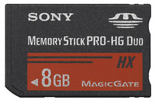 Genuine Sony Pro Duo 8 GB Memory Stick PRO-HG Duo Card - OEM - (MSHX8B)