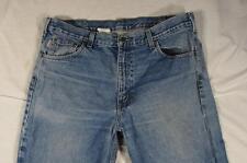 Carhartt B160 DST Heavy Denim Faded Work Jeans Tag 38x30 Measure 38x30