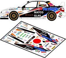 DECALS 1/43 SUBARU IMPREZA S12 WRC  - #4 - VIAENE - RALLYE DU TAC 2012 - D43102