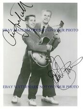 PAUL SIMON AND ART GARFUNKEL SIGNED AUTOGRAPHED 8x10 RP PUBLICITY PHOTO
