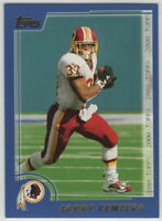 2000 Topps Football Washington Redskins Team Set