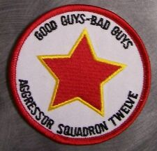 Embroidered Military Patch USAF Air Force Aggressor Squadron Twelve 12 NEW