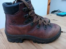 Scarpa Size 4 37 EU brown Leather Walking Hiking Boots
