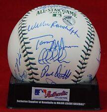 2001 MLB All-Star Game Hand Signed Baseball(19) Signatures W/COA