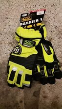Ringers 911 Extrication Gloves. Medium, Safety Yellow