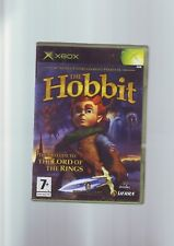 THE HOBBIT - LORD OF THE RINGS PRELUDE XBOX GAME Fast Post ORIGINAL & COMPLETE