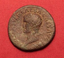 Ancient Roman Galba AS, Bust-Left. Very Rare!