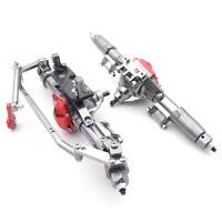 RC Car CNC Metal Front / Rear Axle Upgrade Parts for 1:10 RC Crawler AXIAL SCX10