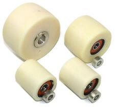 """Belt Grinder wheel set for knife grinders 4"""" Drive-19 mm shaft 3"""" track 2"""" Idler"""