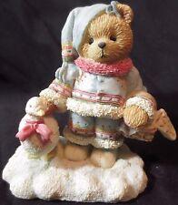 "Cherished Teddies Ingrid ""Bundled-Up With Warm Wishes"" 617237 1994"